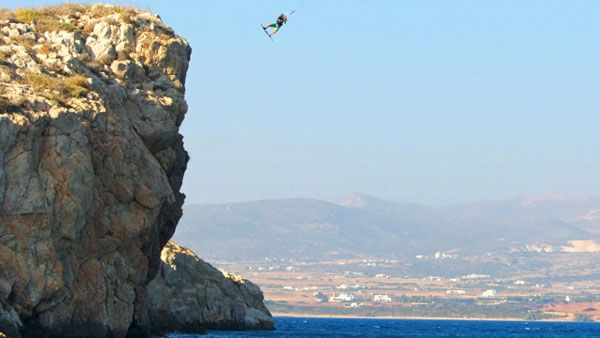 Dimitri Maramenides's entry into the Red Bull King of the Air kiteboarding competition: Fearless!