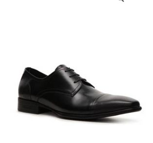 FROM THURSDAY: Command attention when you are wearing the E-Vent-Ful oxford from Kenneth Cole. This leather lace-up boasts a cap toe with perforated details that are sure to have you looking like a style leader.