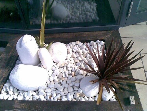Piedras blancas jardin pinterest - Jardin piedras blancas ...