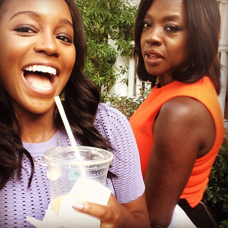 OH YEA @violadavis and I are super excited about tonight's episode...GET READY!!! #HTGAWM #TGIT  by ajanaomi_king