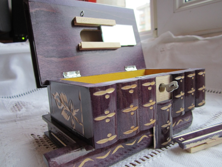 How To Make Wooden Box With Secret Lock | Wooden Thing