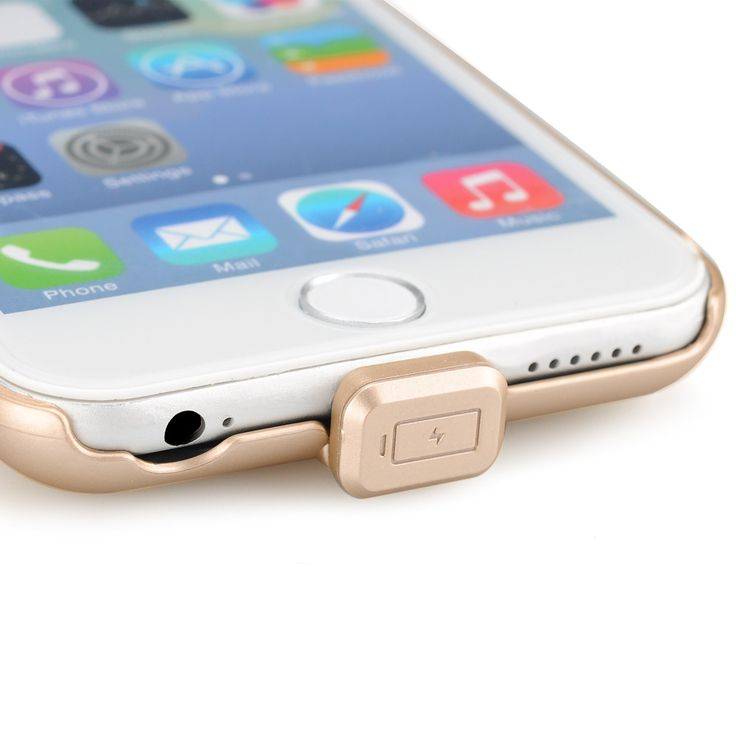 External Battery Case For iPhone 6 - 1500mAh Battery, Power Indicator Light, Recyclable over 50000 Times