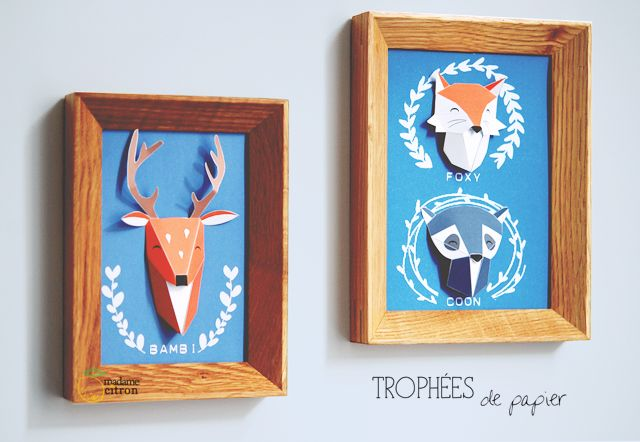 French adorableness in a DIY paper folding project!