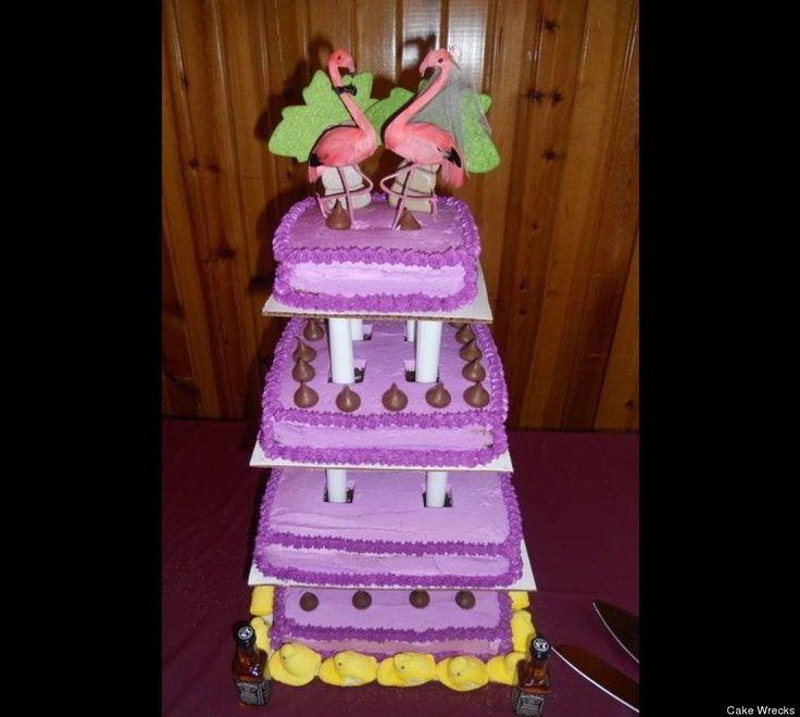Cake Wrecks Weird Wedding Cakes