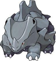 Rhyhorn Pokédex: stats, moves, evolution & locations | Pokémon Database