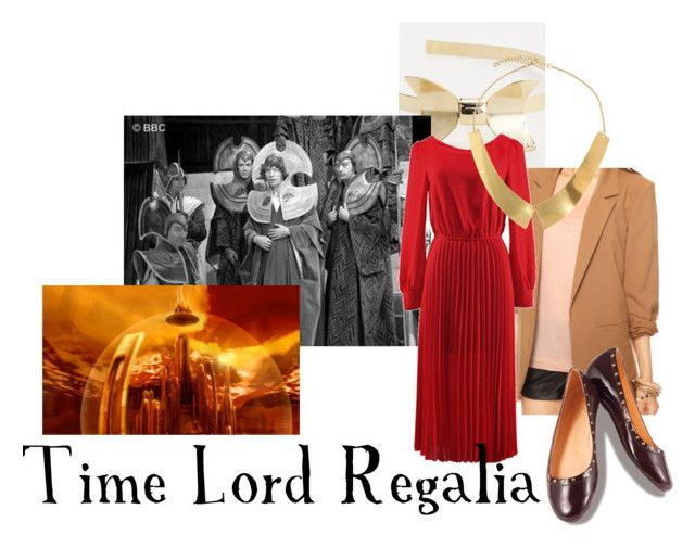"""""""Time Lord Regalia"""" by companionclothes ❤ liked on Polyvore featuring GOVIL, Forever 21, ASOS, Lillybee and doctor who"""
