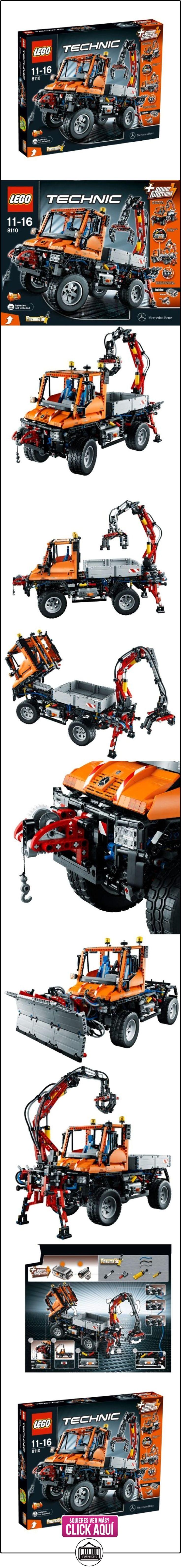 LEGO TECHNIC 8110 Mercedes-Benz Unimog U400  ✿ Lego - el surtido más amplio ✿ ▬► Ver oferta: https://comprar.io/goto/B004OT2WKO