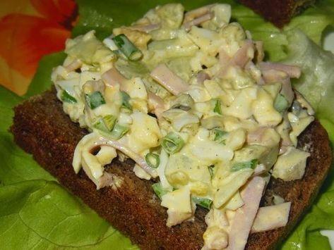 Góralskie Jadło: Pasta na kanapki z szynką i ogórkiem