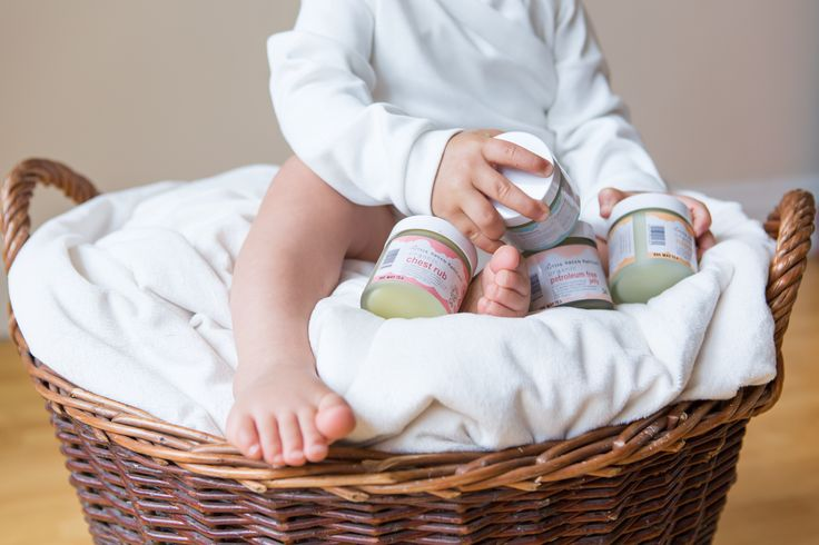 Little Green Radicals Organic Skincare Collection: Petroleum Free Jelly, Nappy Balm, Sleep Balm, and Chest Rub