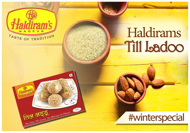 Let's enjoy #haldiramstillladoo with your special winter moments. More details; http://www.haldirams.com/sweets/packed-sweet/til-laddu.html