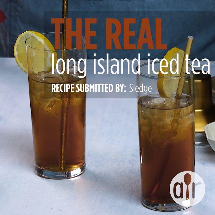 The REAL Long Island Iced Tea [Video]