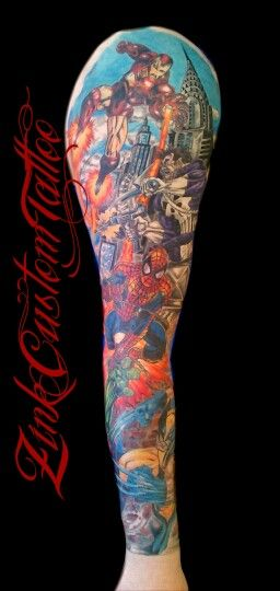 59 best images about marvel tattoos on Pinterest ...