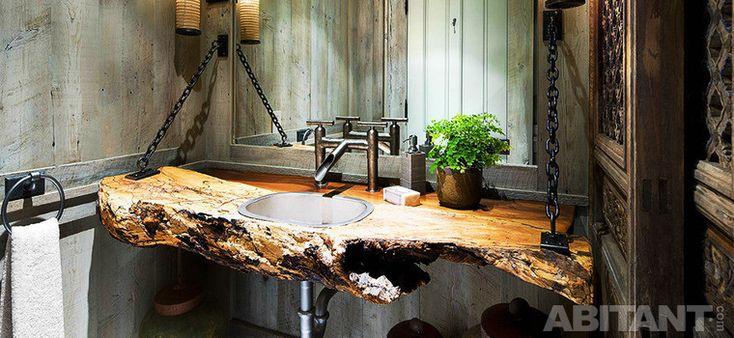 Антураж для тонуса. 15 оригинальных концепций оформления раковины в ванной комнате