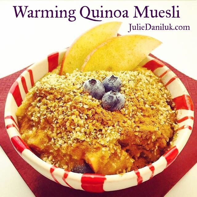 Warming Quinoa Muesli
