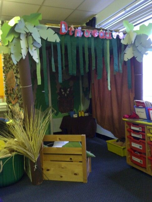 Dinosaur class room role play area