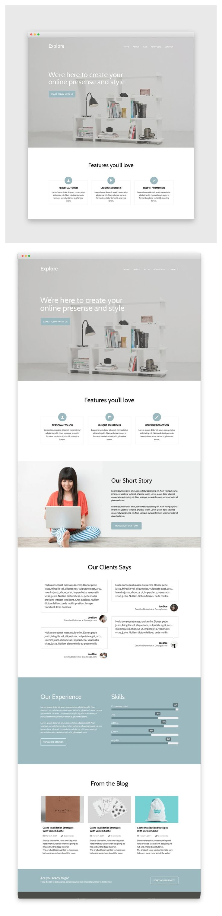 """Free Single Page #Web #Template #PSD"" | http://83oranges.com/free-single-page-web-template-psd/?utm_content=buffer1bec3&utm_medium=social&utm_source=pinterest.com&utm_campaign=buffer"