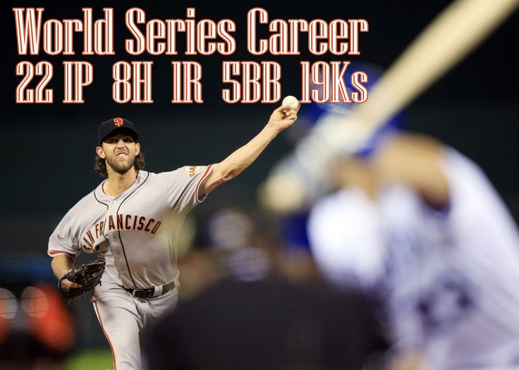 3 starts, 3 wins...Madbum's World Series Career stats show some immaculate numbers