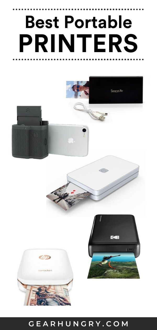Best Portable Printers Buying Guide 2021 Gear Hungry Best Portable Printer Best Portable Photo Printer Portable Printer