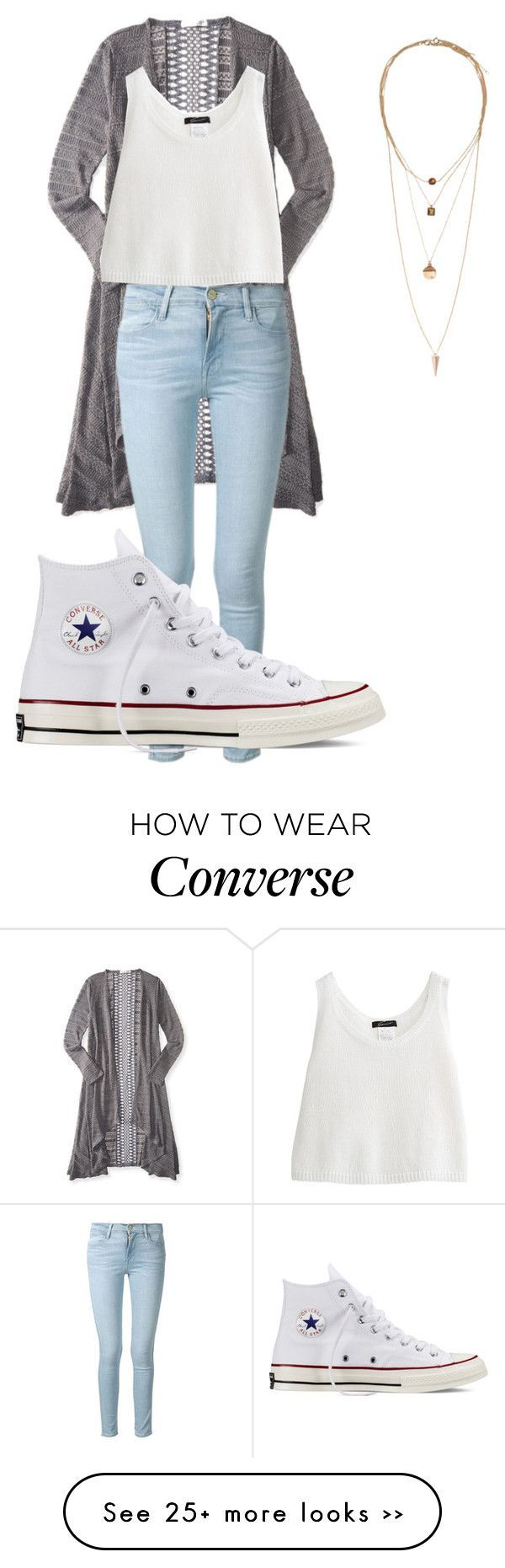 outfits with white converse wwwimgkidcom the image