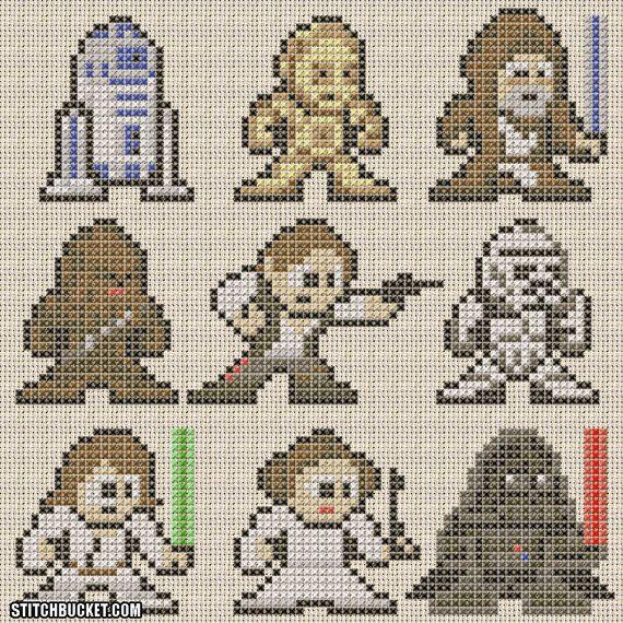 Star Wars A New Hope  Pattern by StitchBucket