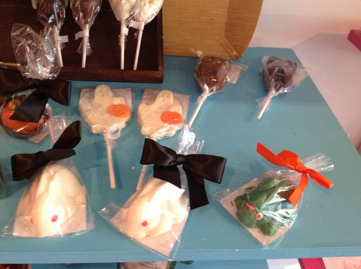 Cute and yummy Halloween chocolate treats from Cellar Door Chocolates