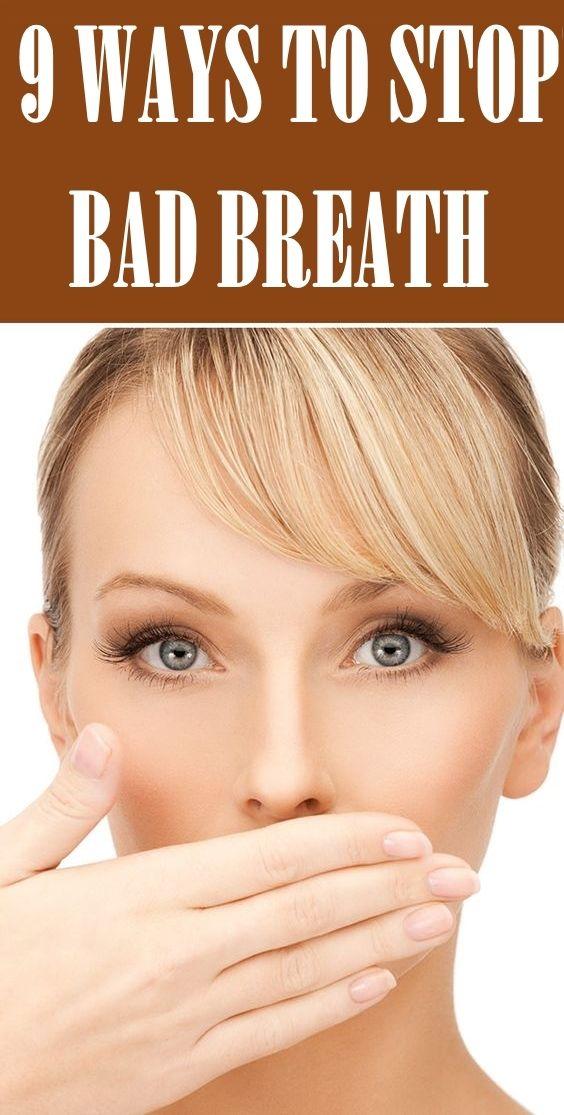 9 Ways To Stop Bad Breath