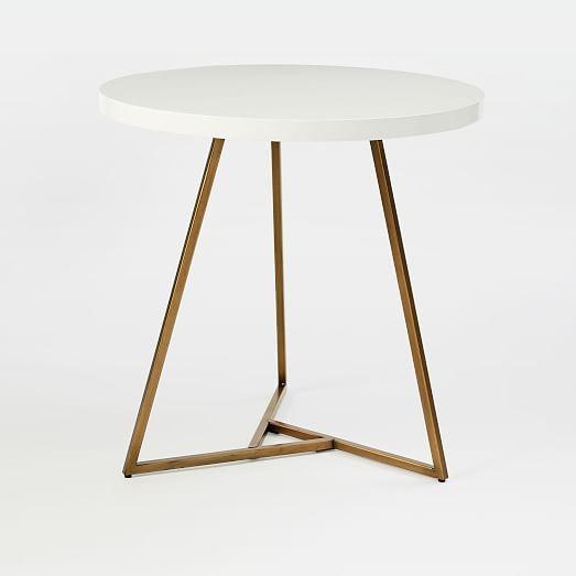 Lacquer Top Café Table #westelm