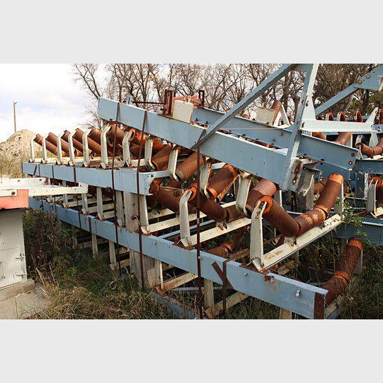 Proveedores de Cintas Transportadoras de Canal 54 pulg - Cintas Transportadoras de Canal 54 pulg x 116 pies usado a la venta - Savona Equipment