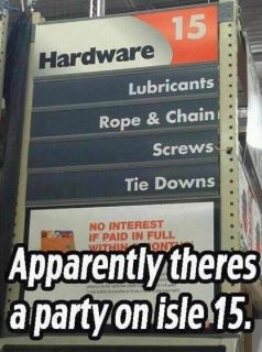 Party on isle 15