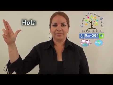 LSM Días de la Semana - Lengua de Señas Mexicana - YouTube
