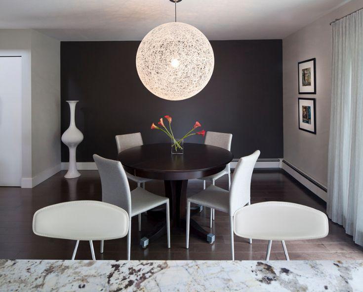 Shore Condo  | Modern Black Dining Room Designs For The Super Stylish Contemporary Home | http://moderndiningtables.net/ #luxuryfurniture #luxurydesign #bespoke #furnituredesign #diningtable #luxuryfurniture #diningroom #interiordesign #moderndiningtable #diningtableideas#black #blackdiningroom