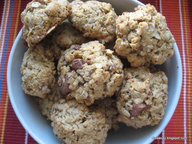 drobečky: Arašídové cookies