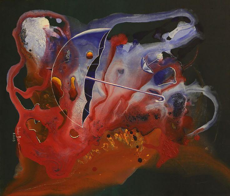 Şemsiyeler (Umbrellas) by Önder Bora - TÜA / Acrylic on Canvas - 70x50  #gallerymak #sergi #sanat #soyutresim #resim #tablo #abstract #eser #abstract #painting #akrilik #acrylic #modernsanat #arte #contemporaryart #sanatsal #gallery