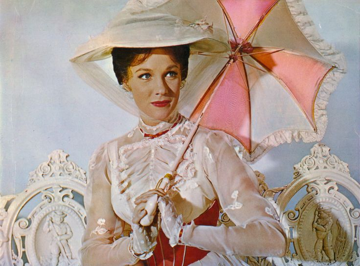 Julie Andrews in Mary Poppins.: Walt Disney, Disney Film, Under The Stars, Mary Poppins, Disney World, July Andrew, Favorite Movie, Julie Andrew, Disney Movie