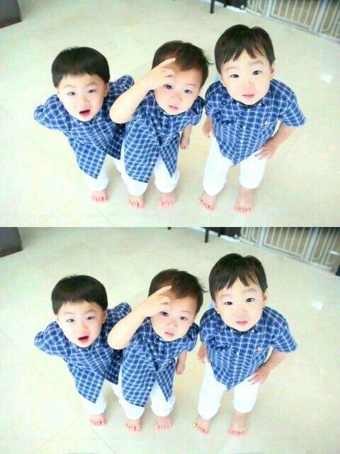 3 little babies 👶👶👶  #ReturnofSuperman