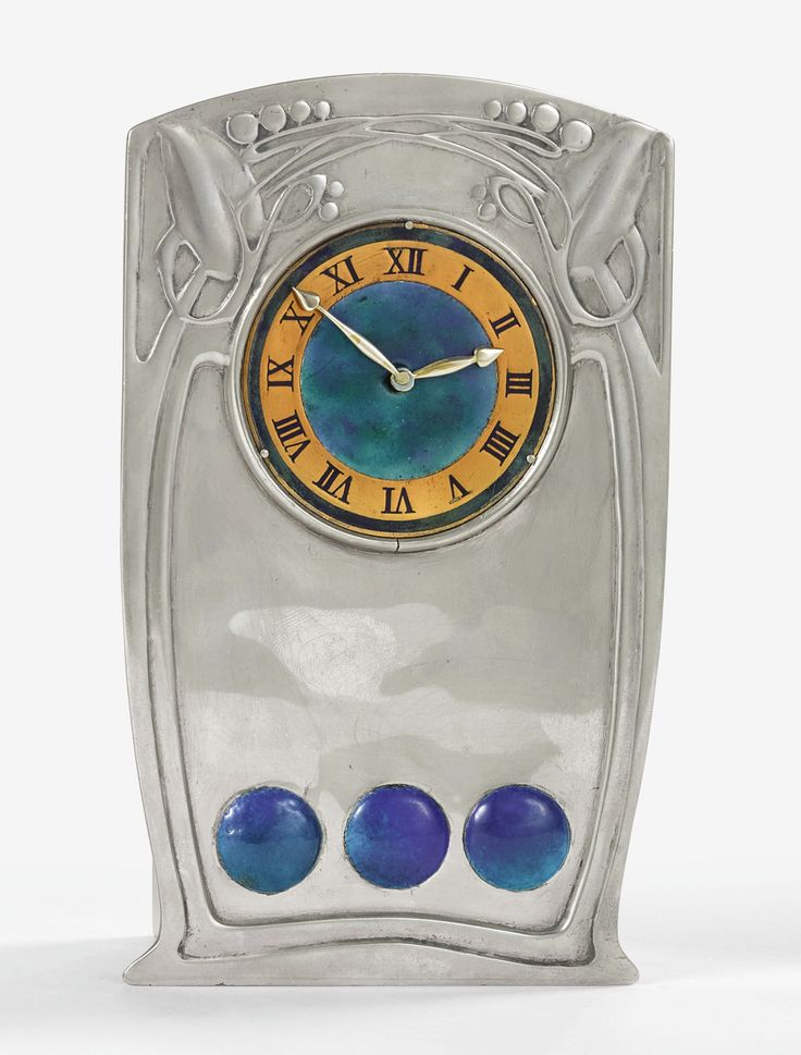 knox, archibald tudric clock, m ||| object ||| sotheby's n09650lot97qcmen