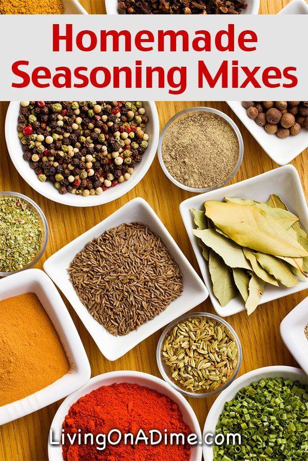 Homemade Seasonings Mixes And Blends Recipes