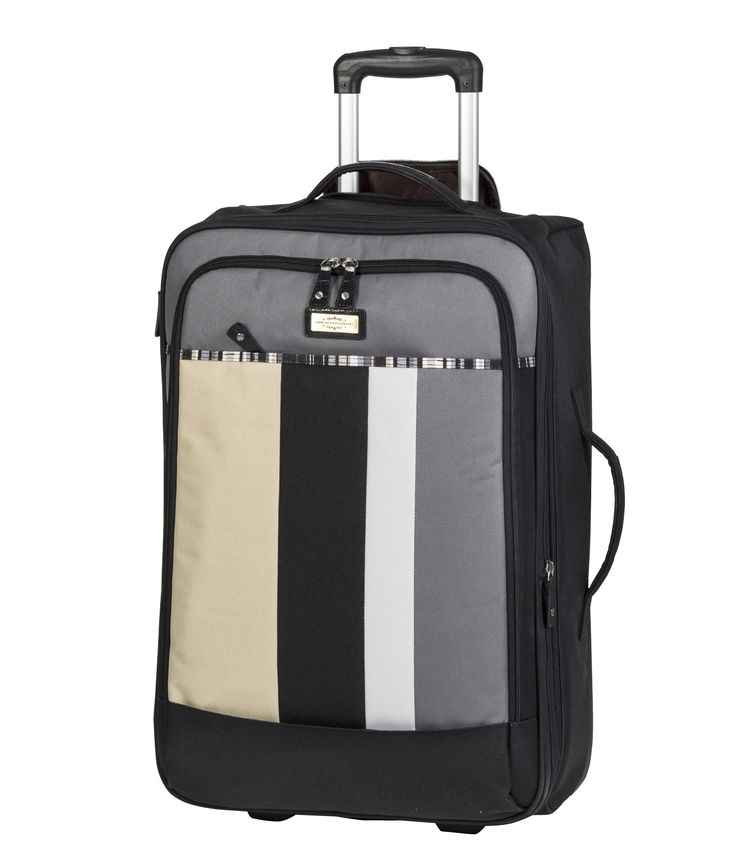 Spencer and Rutherford - Travel - Lightweight Trolley Case - XLight Trolley Large - Cobblestone