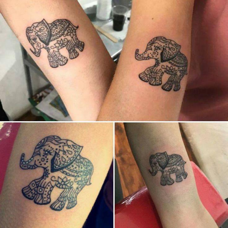 25+ Best Ideas About Tiny Elephant Tattoo On Pinterest