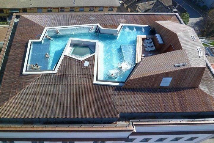 B2 Boutique Hotel by Althammer Hochuli Architekten, Zurich #hotelinteriordesigns