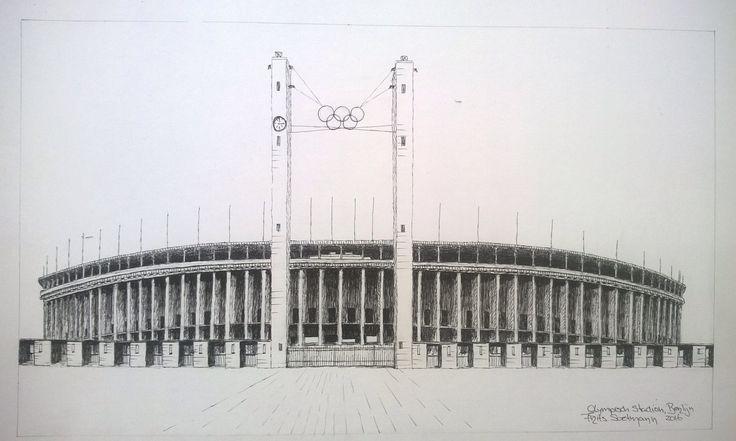 Olympisch Stadion, Berlijn, Duitsland