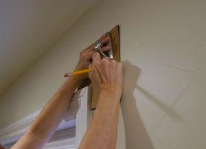 Как повесить шторы без карниза1