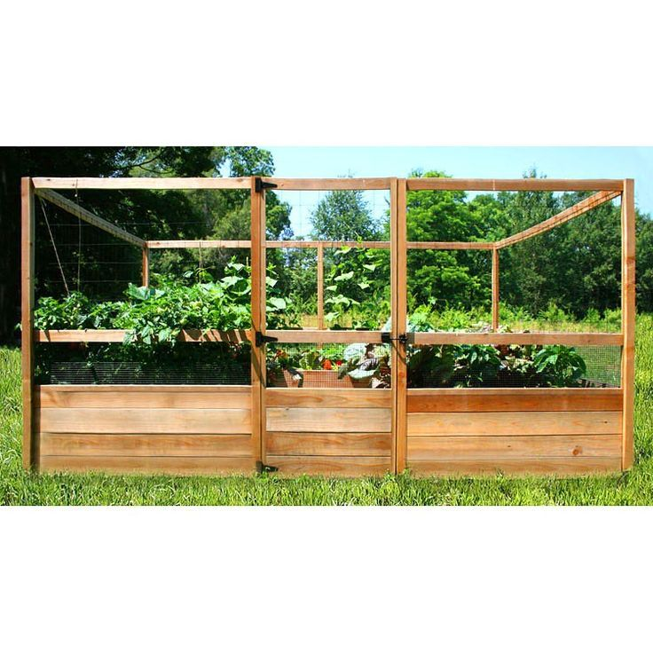 gardens to gro 8 x 12 ft deer proof vegetable garden kit do not use the gardens to gro 8 x 12 ft deer proof vegetable garden kit allows easy access to