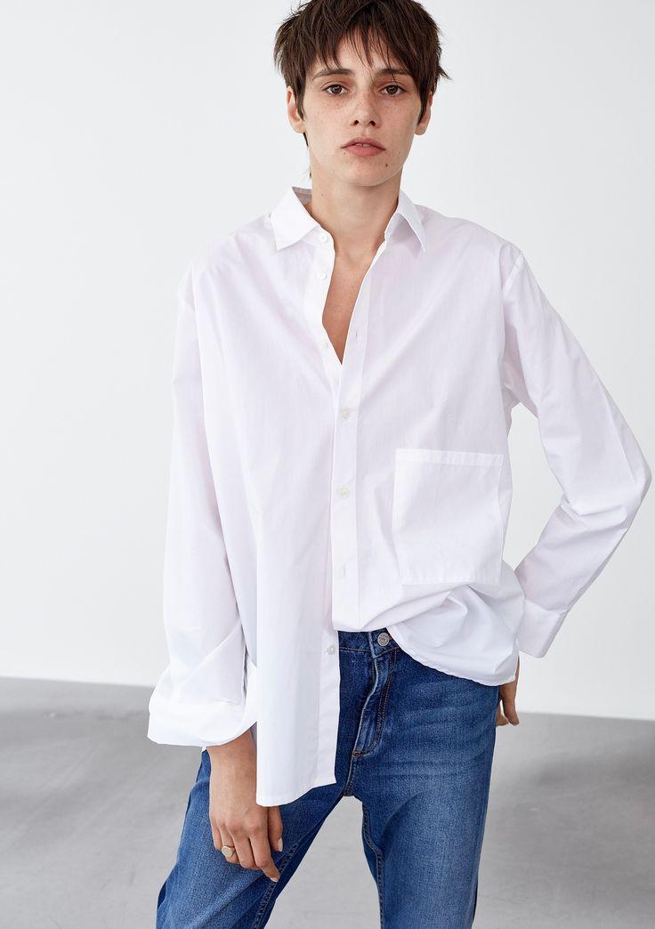 Elma Shirt - White #HopeStockholm