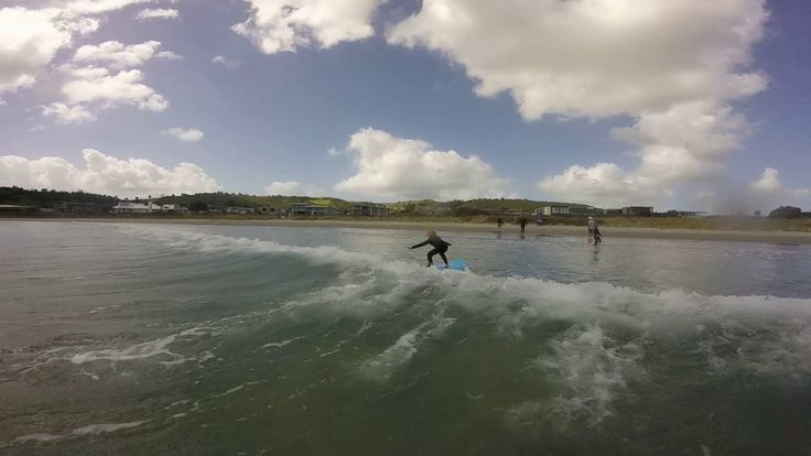Kids Private Surf Lesson at Omaha Beach with Saltwater Eco