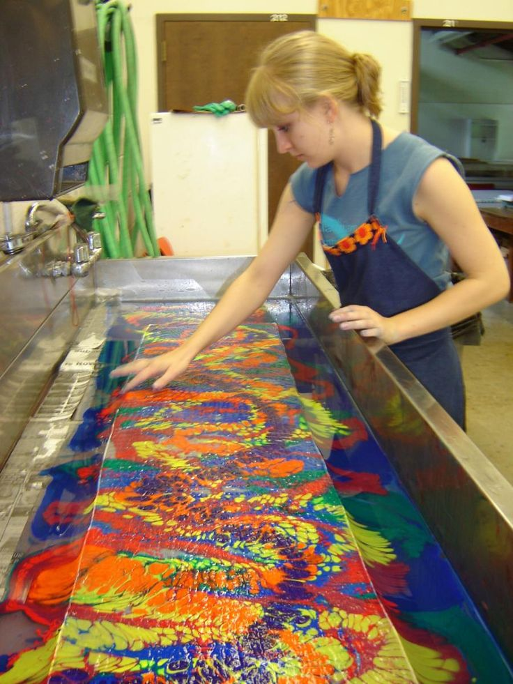 17 Best Images About Fabric Marbling On Pinterest Water