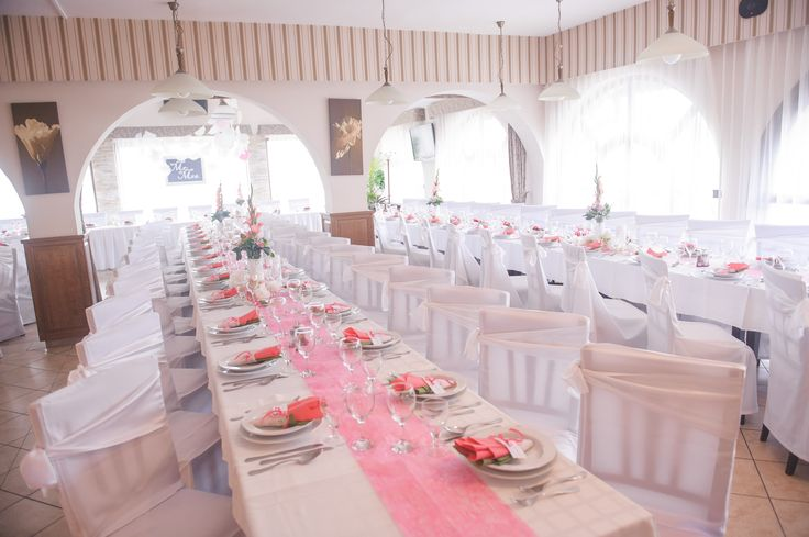 My own wedding: The best decoration ever! All in pink and green!