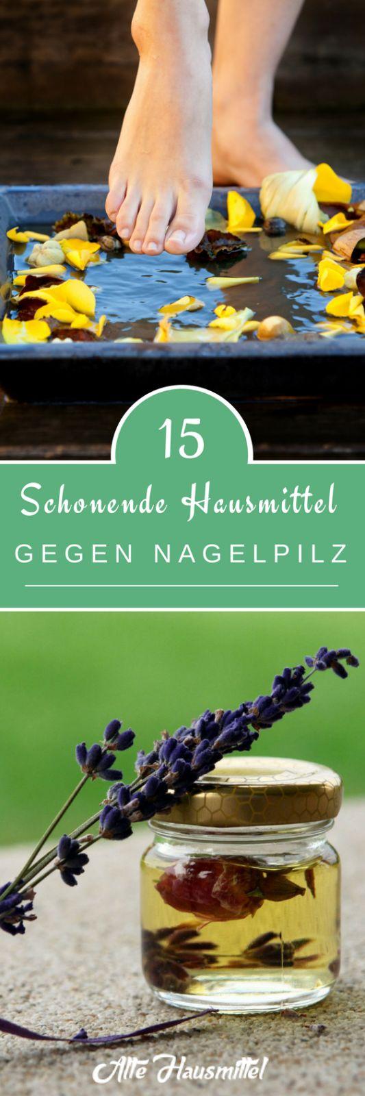 15 schonende Hausmittel gegen Nagelpilz - Alte Hausmittel