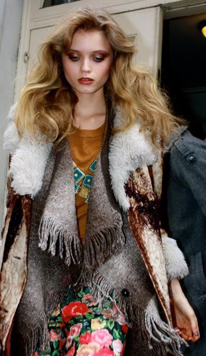 Abby amateur model winter