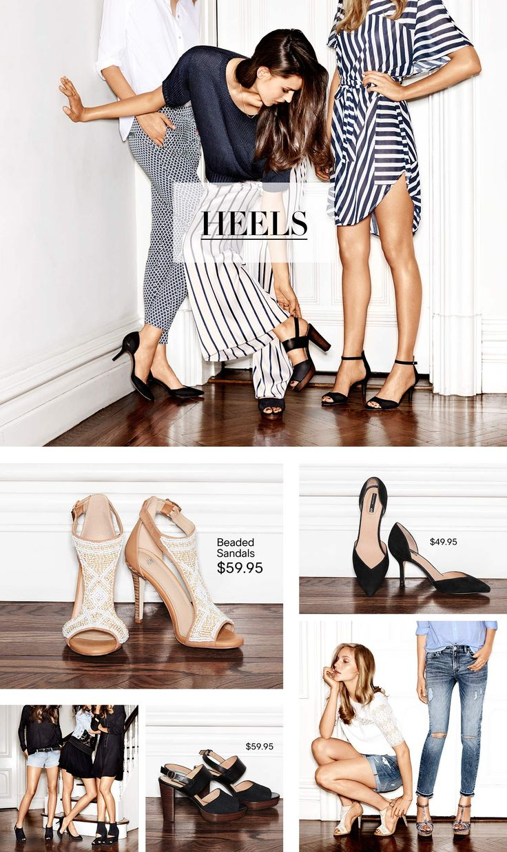 Shoes: this season's most desirable styles